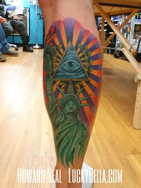 Tattoos - Statue of Liberty - 101572