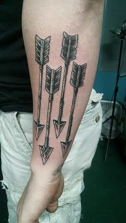 Tattoos - arrows  - 101679