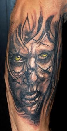 Tattoos - The Exorcist Tattoo - 40818