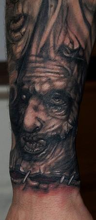 Tattoos - Leatherface Tattoo - 43088