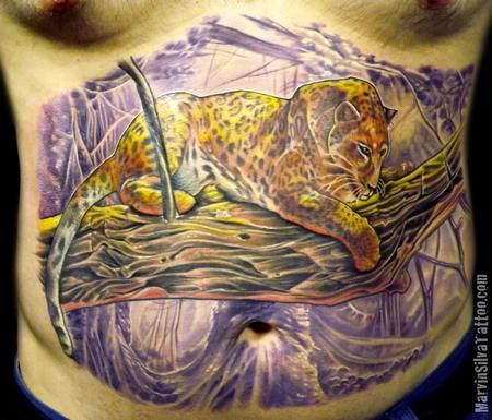 Tattoos - Leopard Tattoo - 68035
