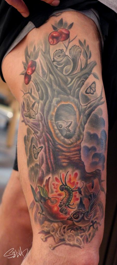 Tattoos - Logan's Tattoo - 95304