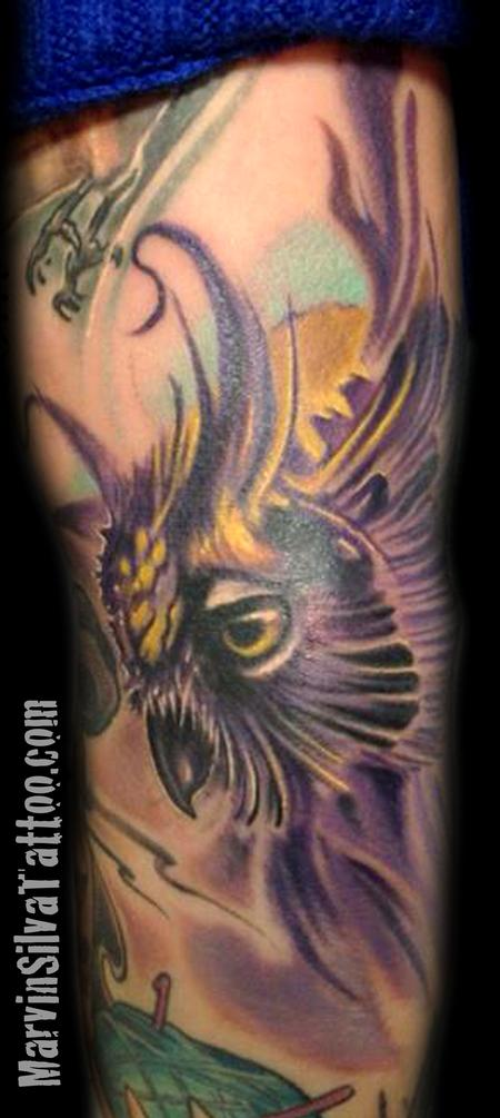 Tattoos - Owl Tattoo - 73827