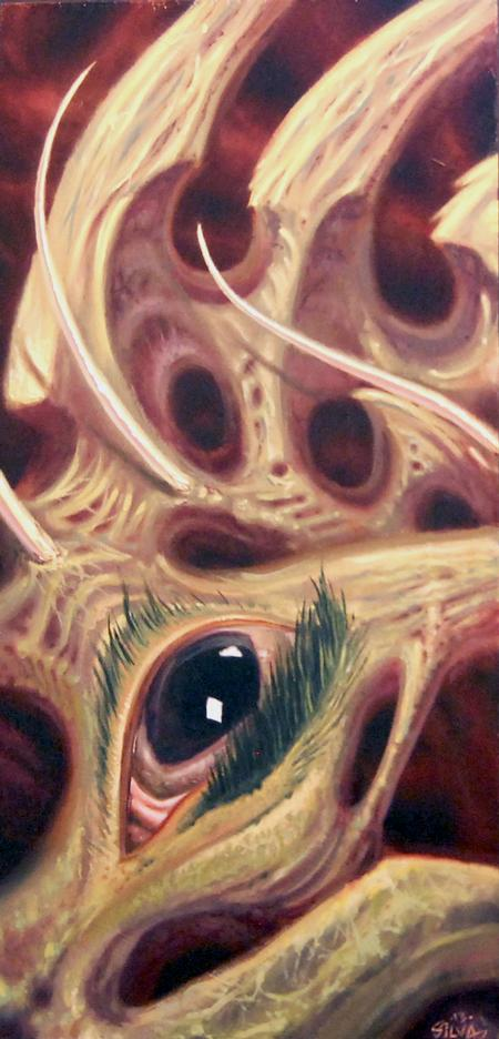 Tattoos - Bio Eye Painting - 77198
