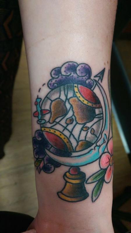 Tattoos - Globe - 96313