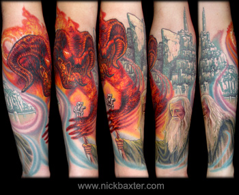 Tattoos - Lord Of The Rings - 9674