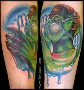 Tattoos - Aerosol Artist - 9467