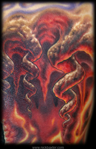 Tattoos - Gerry's Hell (Detail) - 7662