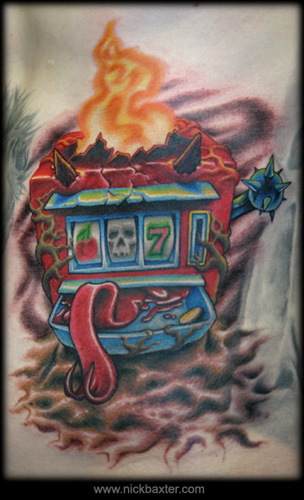 Tattoos - Slot Machine From Hell - 10578