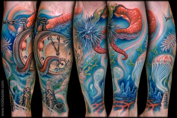 Tattoos - Sea Leg - 34378