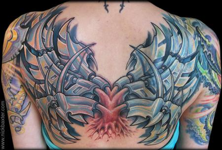 Tattoos - Mech Wings - 66783