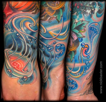 Tattoos - Jellyfish - 45912