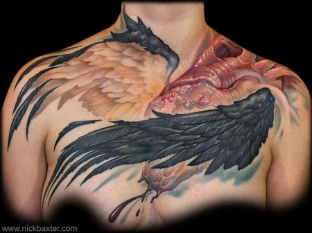 Tattoos - Winged Heart - 70651