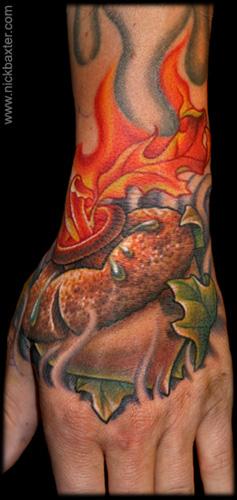 Tattoos - Sacred Acorn - 17821