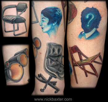 Tattoos - More Chairs - 10598