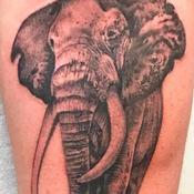 His Majesty Tattoo Design Thumbnail