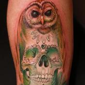 Tattoos - Mexican spotted owl - 100791