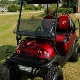Tattoos - Gamecock Golf Cart - 78415