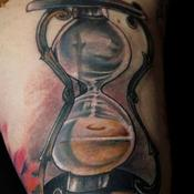 Hourglass of Culley Tattoo Design Thumbnail