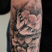 Hydrangea  Tattoo Design Thumbnail