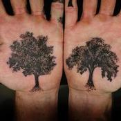 Tattoos - Palm Trees - 131853