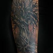 Stand Tall Tattoo Design Thumbnail