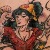 Wonder Woman Tattoo Design Thumbnail