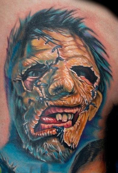 Evan Olin - Leatherface from