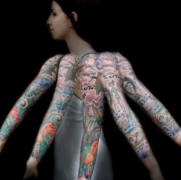 Evan Olin - Tim Burton movie sleeve