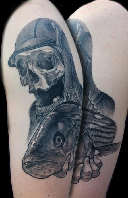The Fish Reaper Tattoo Design Thumbnail