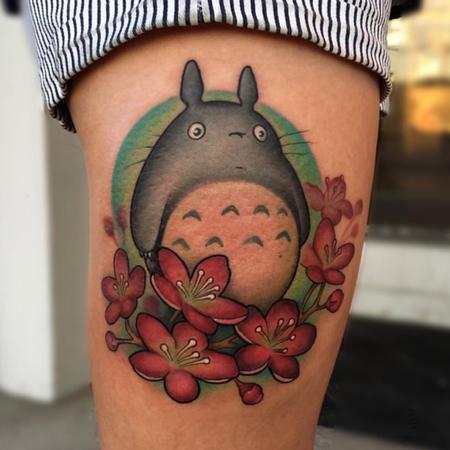Jay Blackburn - New School My Neighbor Totoro and Cherry Blossoms