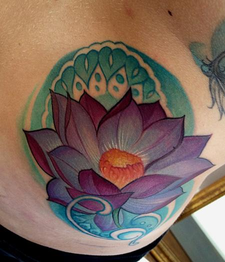 Mike Boissoneault - lotus with henna
