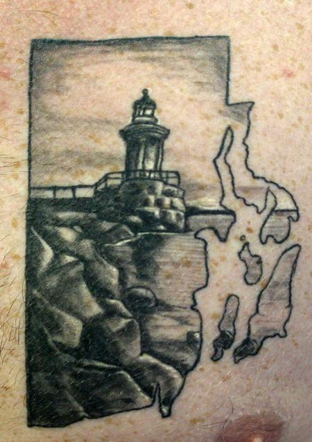 Mike Ledoux - Rhode Island Lighthouse