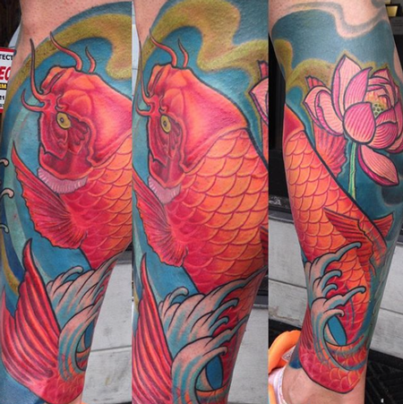 Larry DiGiusto - Colorful Koi