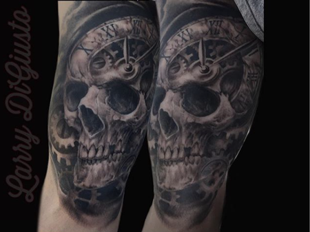 Tattoos - Skull Morph  - 133118