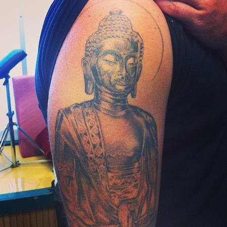 Tattoos - Buddha Statue - 88867