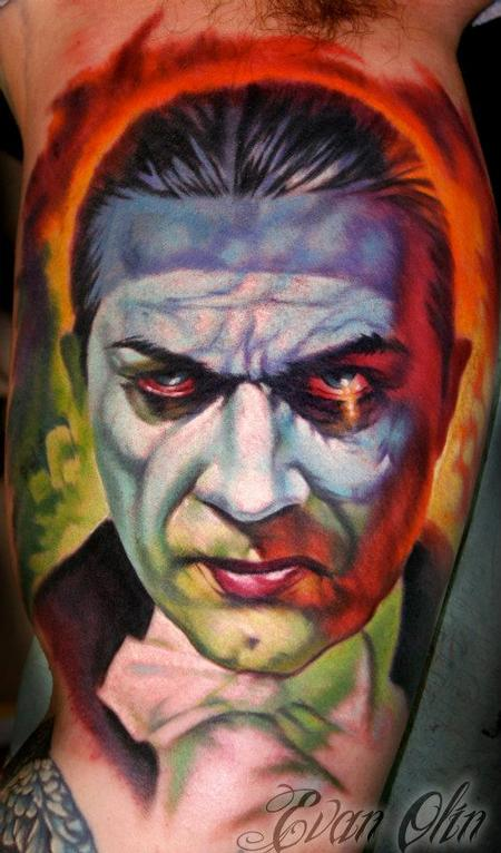 Evan Olin - Basil Gogos Dracula Tattoo