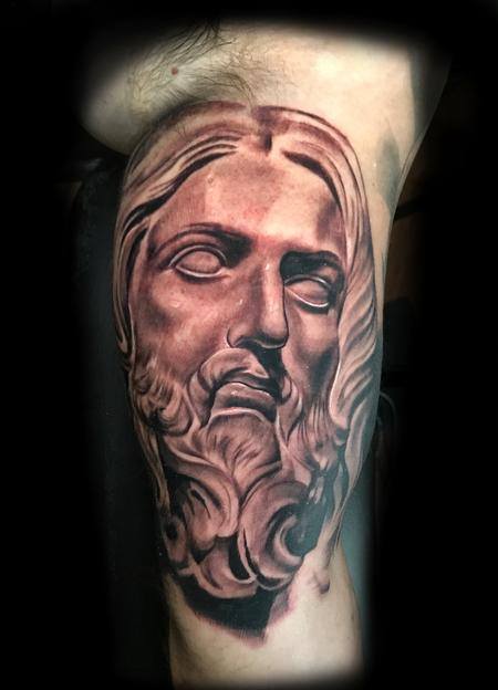 Statue of Jesus Design Thumbnail