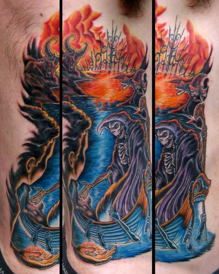 Mike Ledoux - River Styx Full Color Custom Side Piece