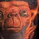 Tattoos - color realistic E.T. tattoo - 102411