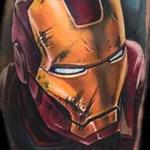 Tattoos - color realistic Iron Man tattoo - 102412