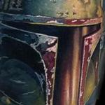 Tattoos - color realistic Boba Fett tattoo - 102413