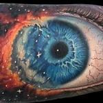 Tattoos - Gods eye nebula/ eye ball morph tattoo - 102417