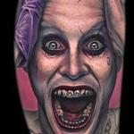 Tattoos - Jared Leto Joker portrait tattoo - 116979