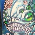 Hugo, the Quadropus Tattoo Design Thumbnail