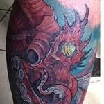 Tattoos - octopus cover up after - 106135