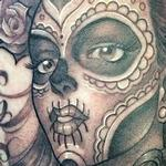 Tattoos - day of the dead pinup - 106150