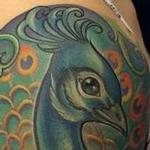 peacock half sleeve Tattoo Design Thumbnail