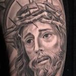 Tattoos - Religious Sleeve  - 133115