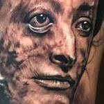 Tattoos - Post mortem victorian woman - 130146